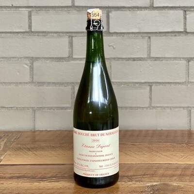 Etienne Dupont Cidre Bouché Brut de Normandie (750ml) [2016]