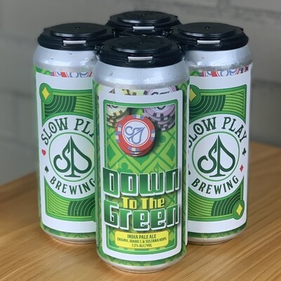 Slow Play Down To The Green Ipa