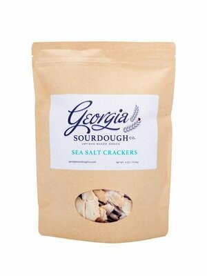 Georgia Sourdough Sea Salt Crackers