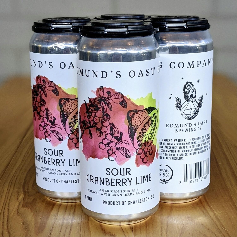 Edmund's Oast Sour Cranberry Lime (4pk)