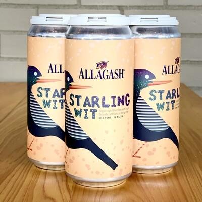 Allagash Starling Wit (4pk)