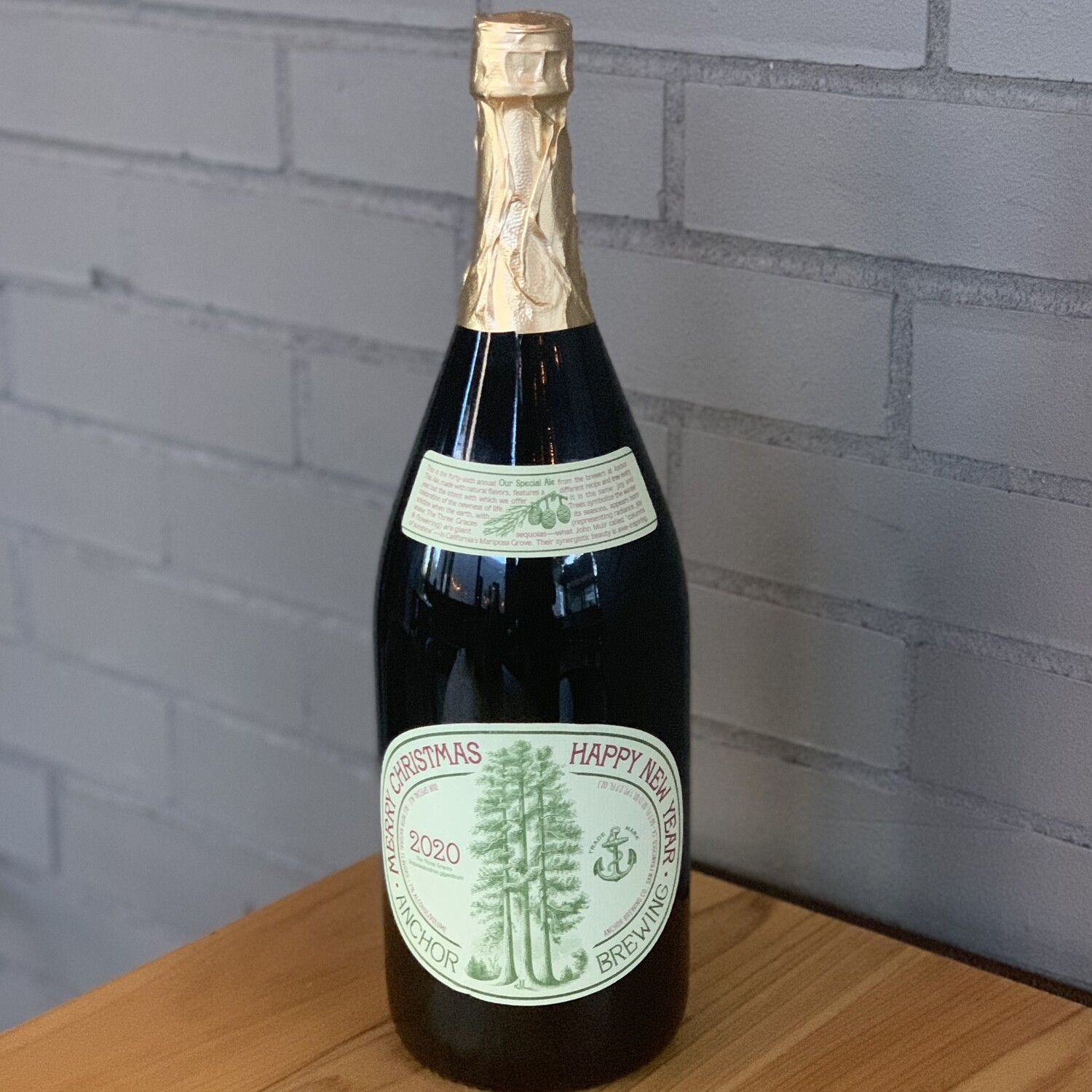 Anchor Brewing Merry Christmas & Happy New Year (Our Special Ale) (1.5L)