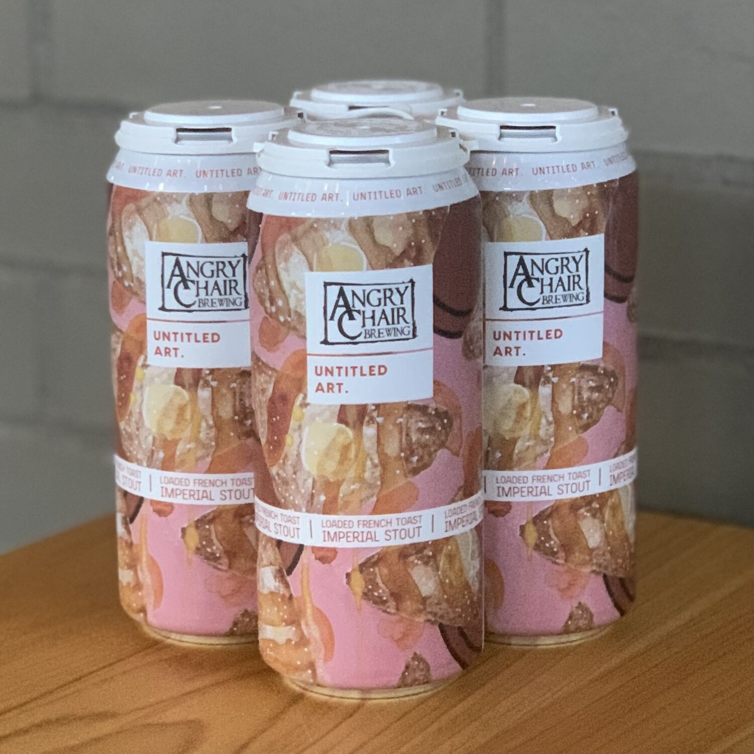 Untitled Art/Angry Chair Loaded French Toast Imperial Stout (4pk)