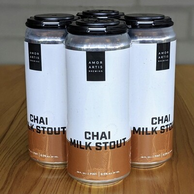 Amor Artis Chai Milk Stout (4pk)