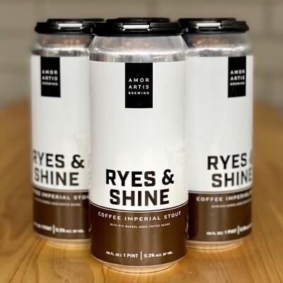 Amor Artis Ryes And Shine (4pk)