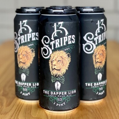 13 Stripes The Dapper Lion IPA (4pk)