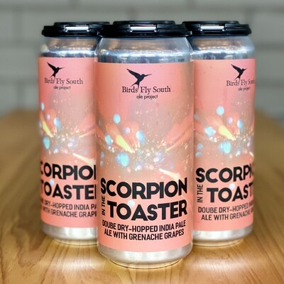 Birds Fly South Scorpion In The Toaster (4pk)