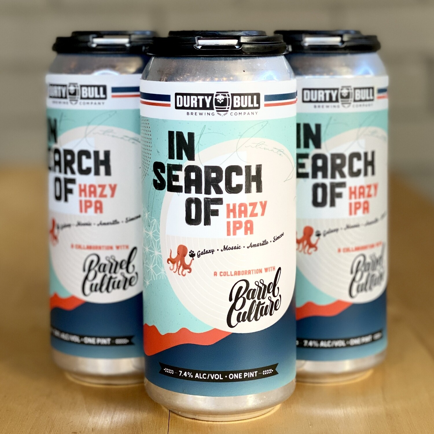 Durty Bull In Search Of Hazy IPA (4pk)