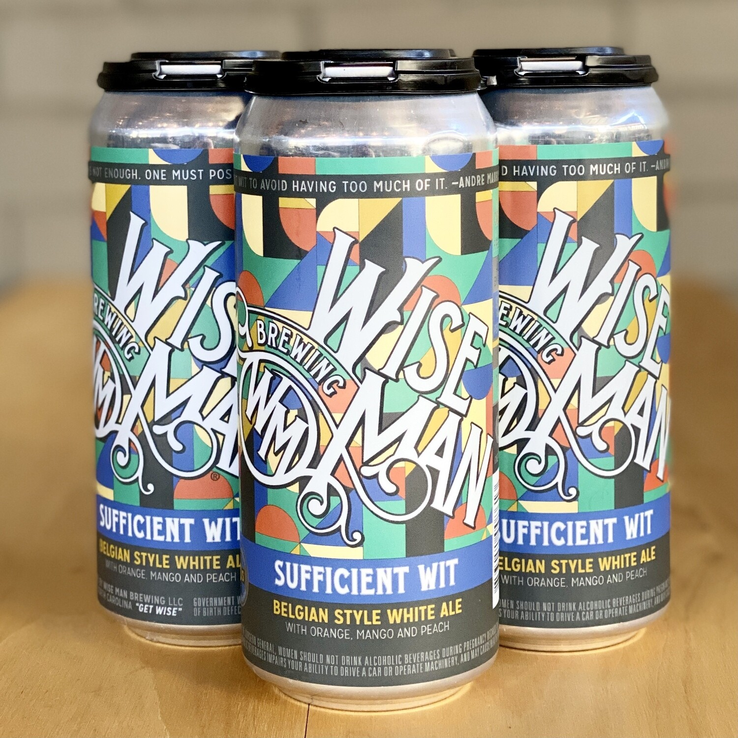 Wise Man Sufficient Wit (4pk)