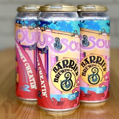 Barrier Our Sour #2: Everyone's Cheatin' (4pk)