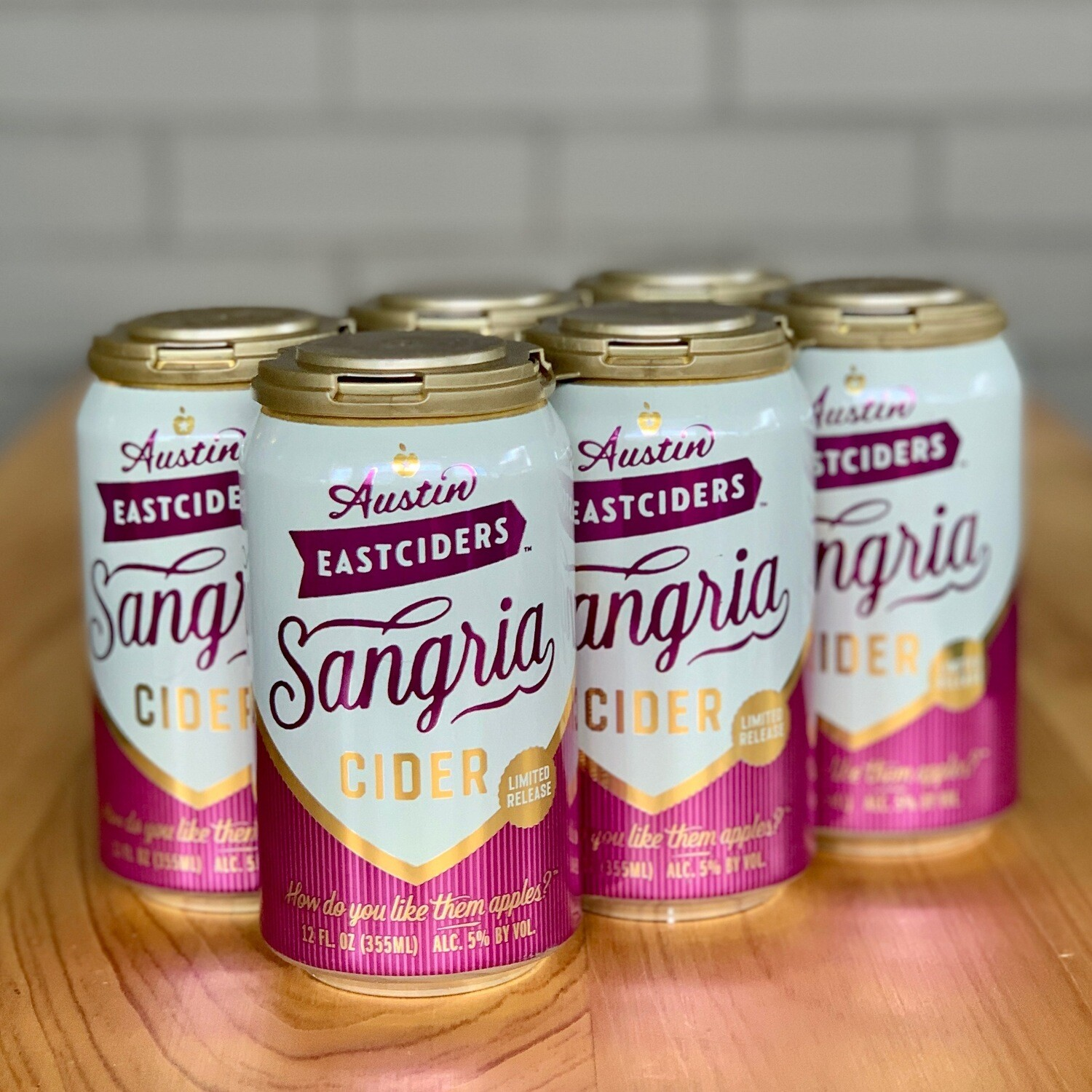 Austin Eastciders Sangria Cider (6pk)