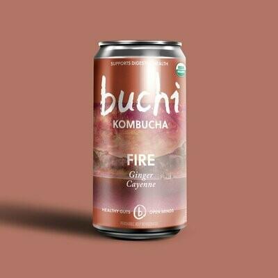 Buchi Kombucha - Fire [Ginger Cayenne] (8oz Can)