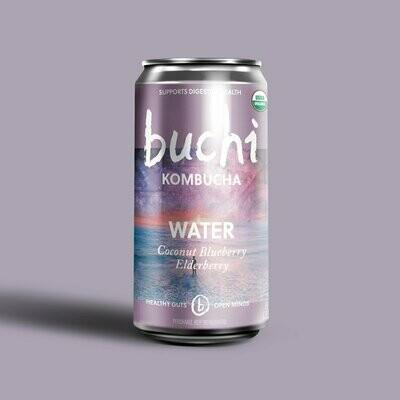 Buchi Kombucha - Water [Coconut Blueberry Elderberry] (8oz Can)