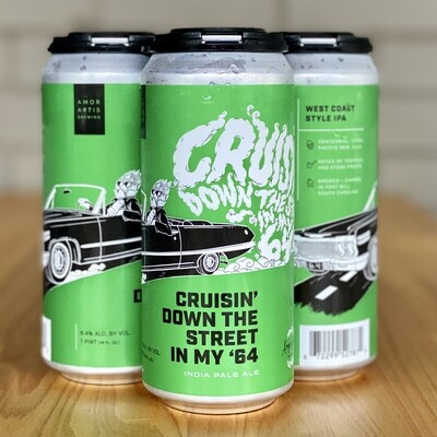 Amor Artis Cruisin' Down The Street In My '64 IPA (4pk)