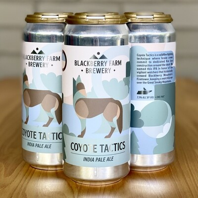 Blackberry Farm Brewery Coyote Tactics IPA (4pk)