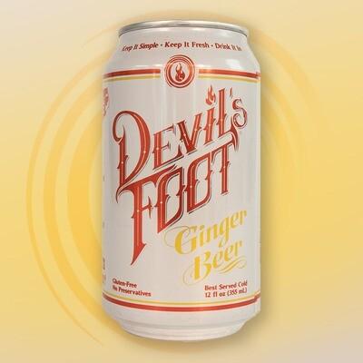 Devil's Foot Ginger Beer (12oz)