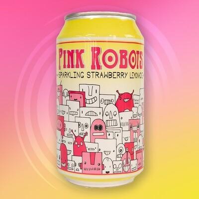 Devil's Foot Pink Robots Sparkling Strawberry Lemonade (12oz)