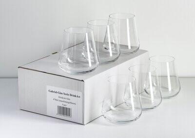 Gabriel-Glass DrinkArt Steamless (6pk)