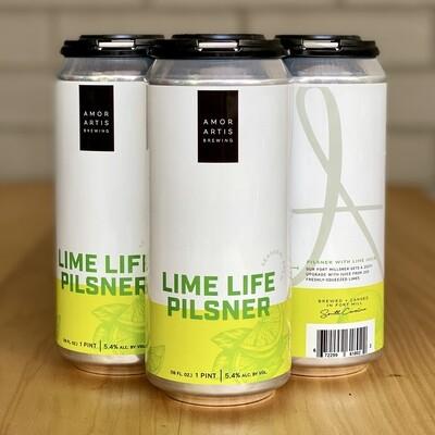 Amor Artis Lime Life Pilsner (4pk)