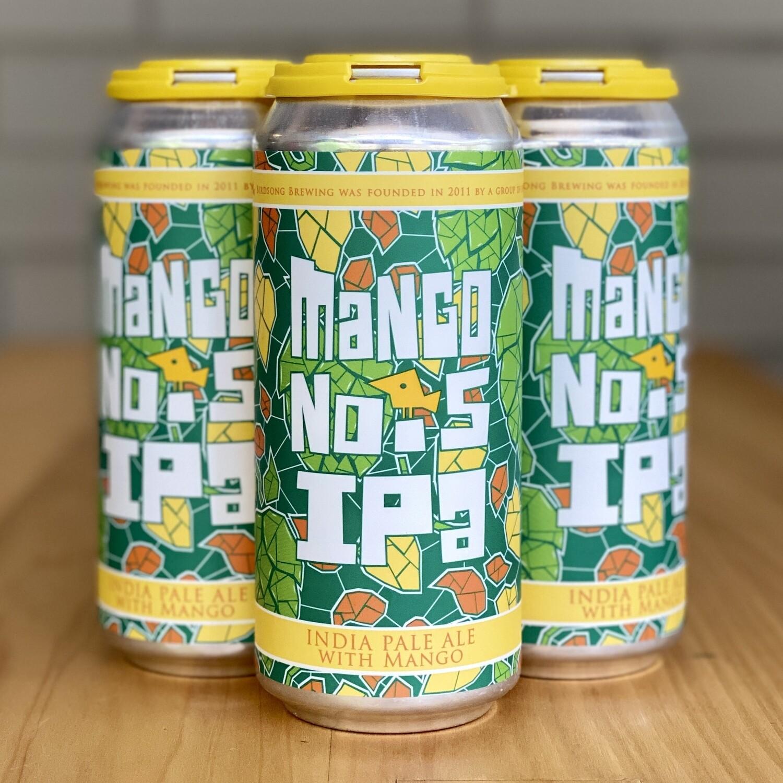 Birdsong Mango No.5 IPA (4pk)