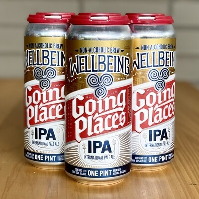 Wellbeing Going Places IPA Non-Alcoholic (4pk)