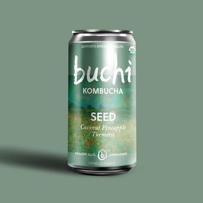 Buchi Kombucha - Seed [Coconut Pineapple Tumeric] (8oz Can)