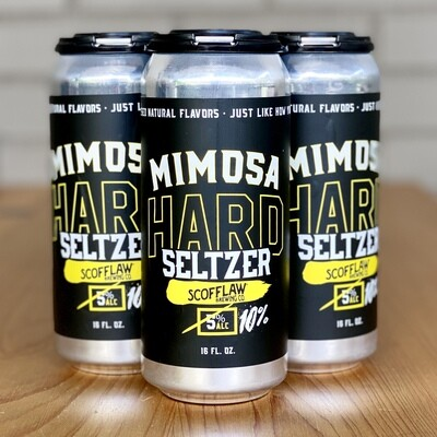 Scofflaw Mimosa Hard Seltzer (4pk)