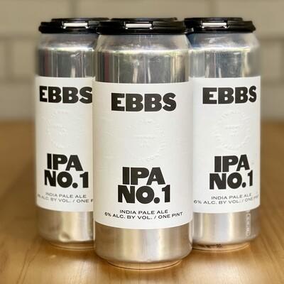 Ebbs IPA No. 1 (4pk)