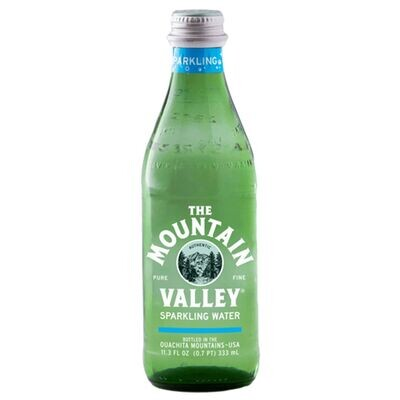 The Mountain Valley Sparkling Water (333ml)