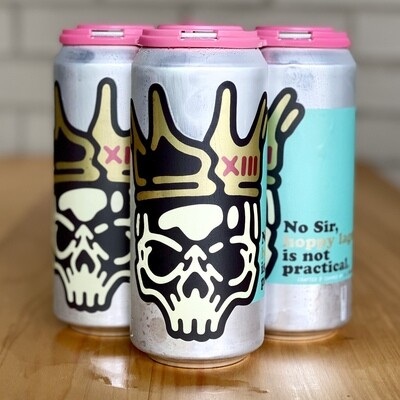 13 Stripes No Sir, Hoppy Lager Is Not Practical (4pk)