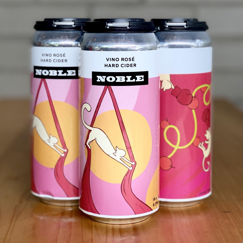 Noble Vino Rosé Hard Cider (4pk)