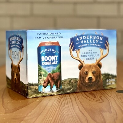 Anderson Valley Boont Amber Ale (6pk)