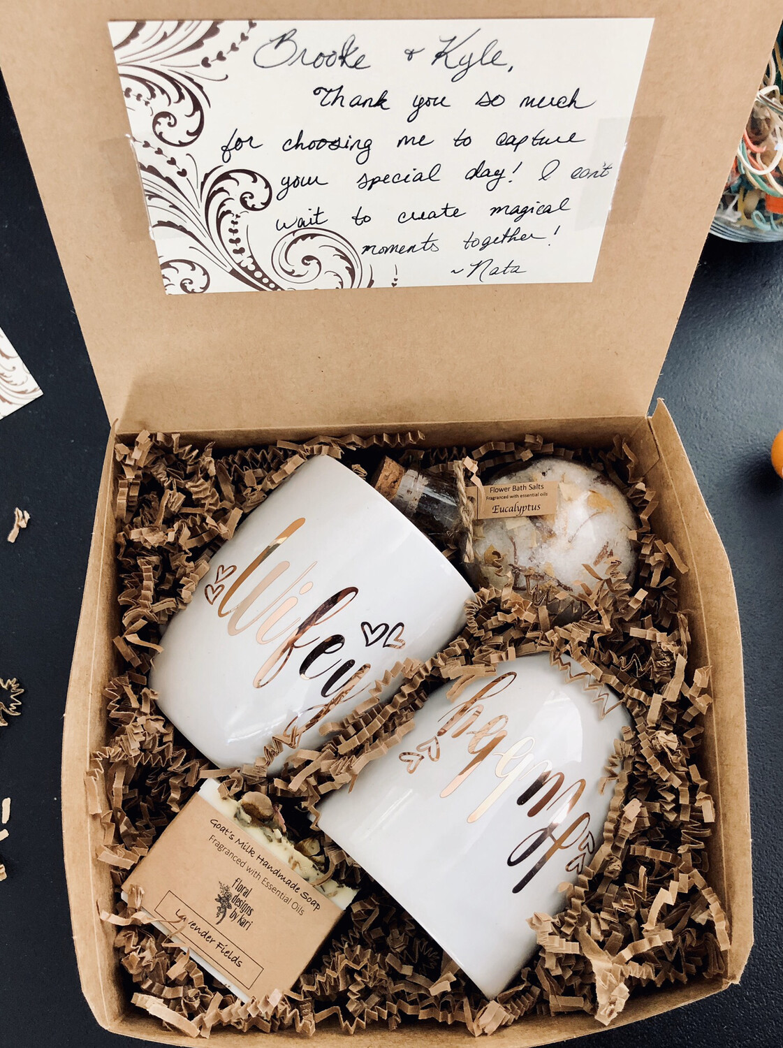 Engagement/Newlywed/New Client Gift Box