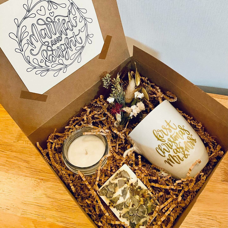 Newlywed FIRST Christmas Gift Box