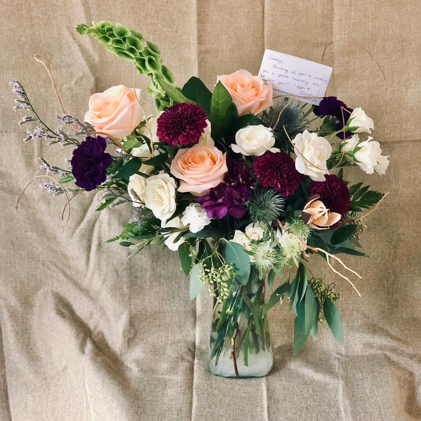 Customized Delivery Bouquets & Bouquet Boxes