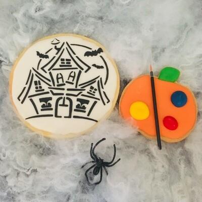 Biscuit à colorier Halloween géant