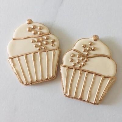 Les cupcakes d'or