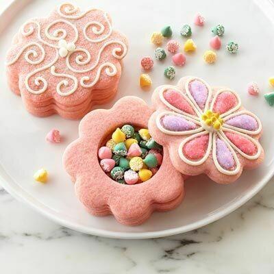 Biscuit piñata fleur