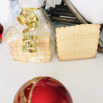 Les 6  biscuits du Père Noël