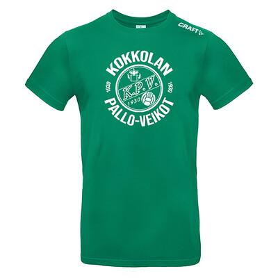 KPV Craft T-Paita (vihreä)