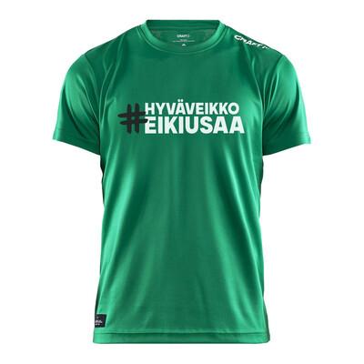 #HyväVeikkoEiKiusaa T-paita (vihreä)