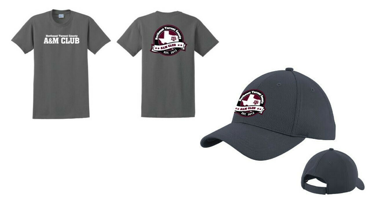 **LIMITED TIME!!** Crew neck T-shirt and Hat Bundle