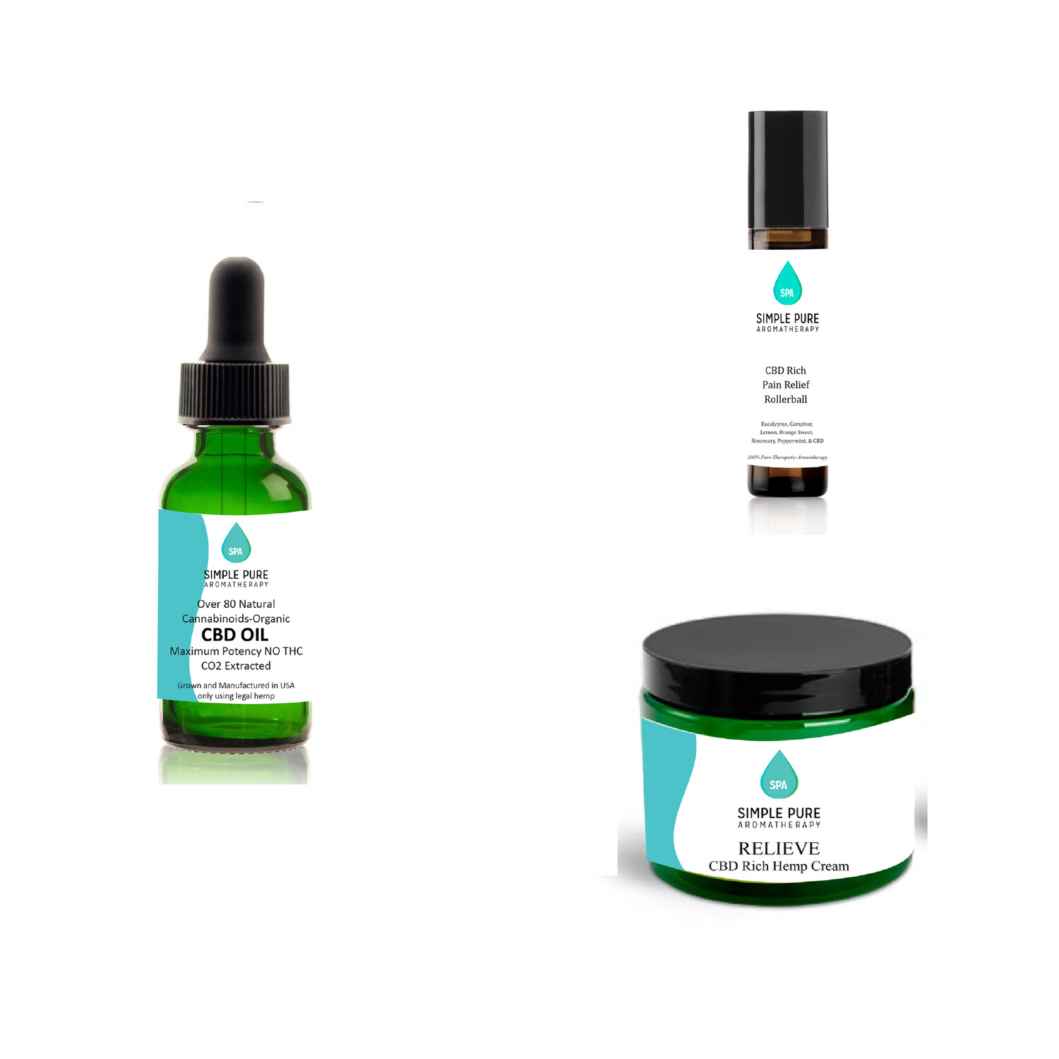 CBD 3 pack special 350 mg