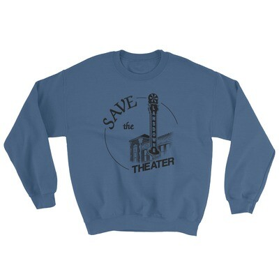 Save the Lansdowne Theater Hoodless Sweatshirt (Dark Print)