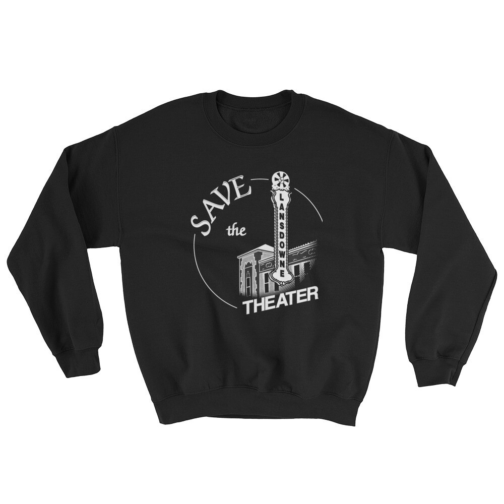 Save the Lansdowne Theater Hoodless Sweatshirt (Light Print)