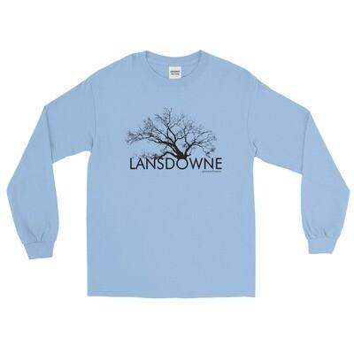 Lansdowne Sycamore Tree (Dark Print)