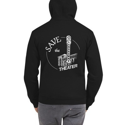 Save The Lansdowne Theater! Unisex Zip Hoodie