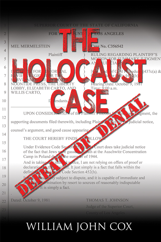 The Holocaust Case: Defeat of Denial (eBook)