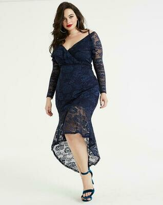 Elegantiška neriniuota suknelė