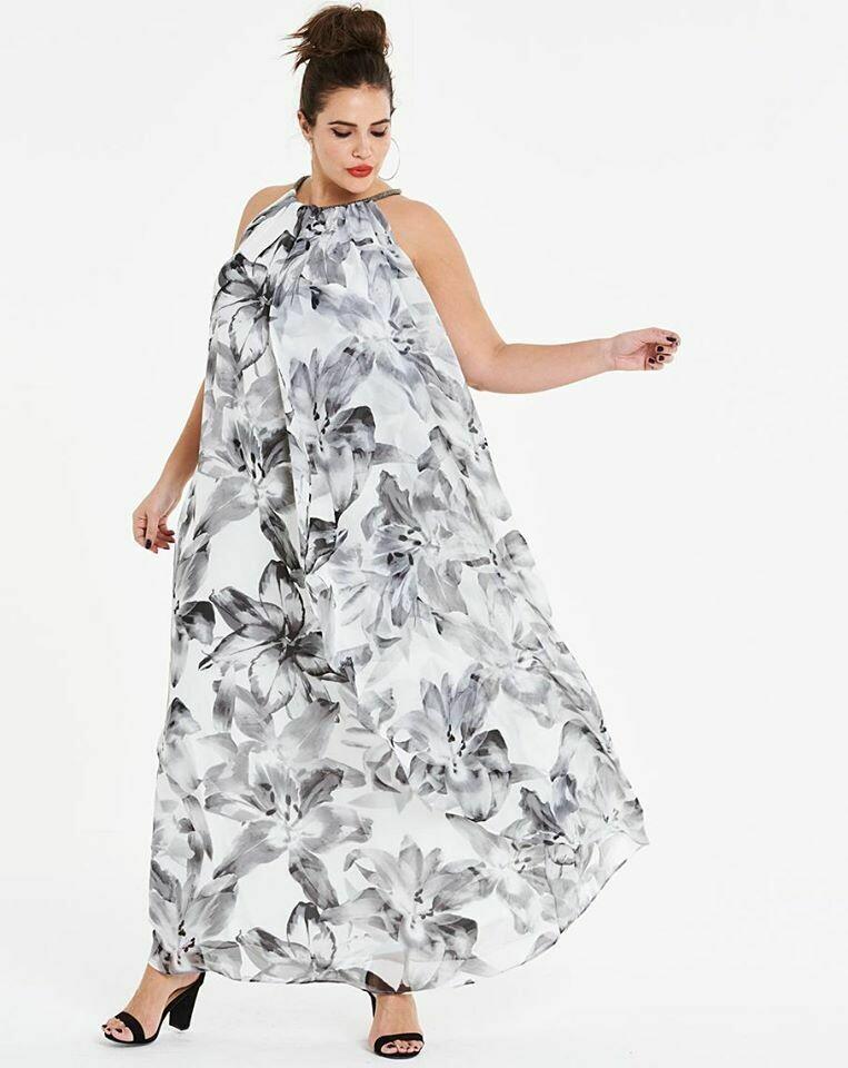 Laisvai krentanti suknelė